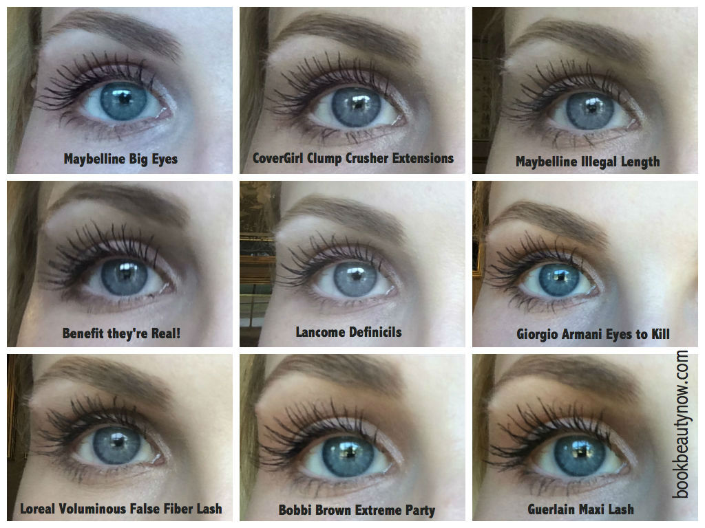 Comparison Of Top Mascaras Beautynow Blog