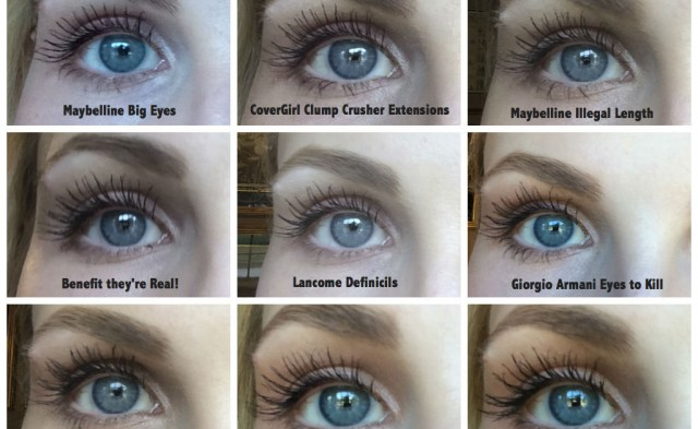 Comparison of Top Mascaras-- BeautyNow Blog