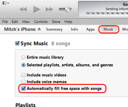 iTunes-Automatically-fill-free-space-option